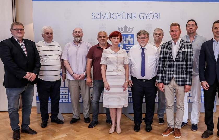 Megalakult A Sporttanács Győrben